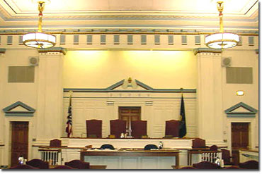 View of Courtroom 5A