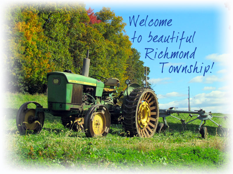 Welcome to beautiful Richmond Township!